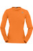 Norrona W's Fjørå Equaliser Lightweight Long Sleeve Pure Orange